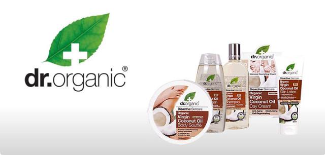 Olej kokosowy Dr Organic