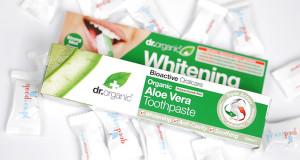 Organiczna pasta do zębów Aloe Vera Dr Organic