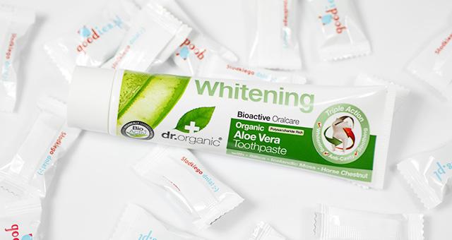 Organiczna pasta do zębów Aloe Vera
