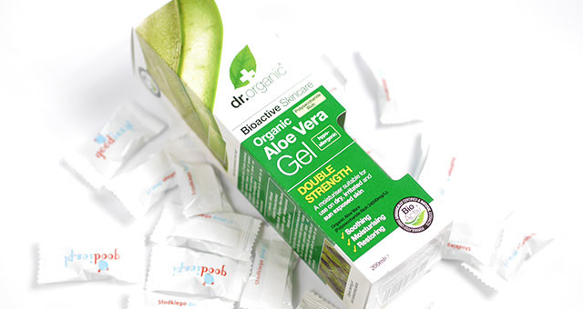 Organiczny Żel do Ciała Aloe Vera Dr Organic