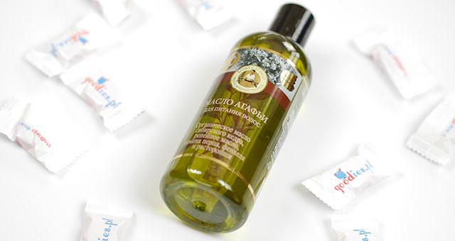 Olej do włosów odżywczy marki Bania Agafii